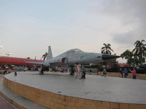 台湾軍の戦闘機