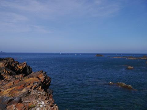豆腐岬の海