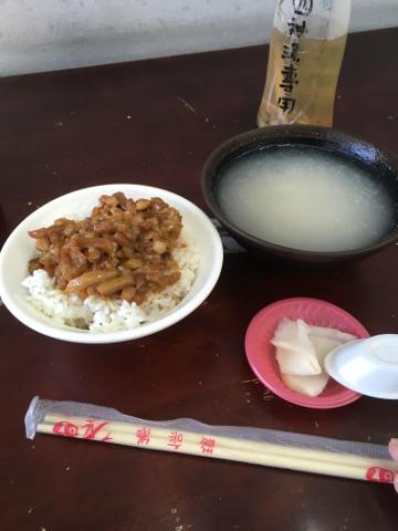 魯肉飯と四神湯
