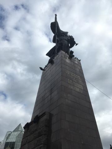 ソヴィエト戦士の像