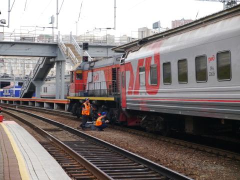 昼のシベリア鉄道