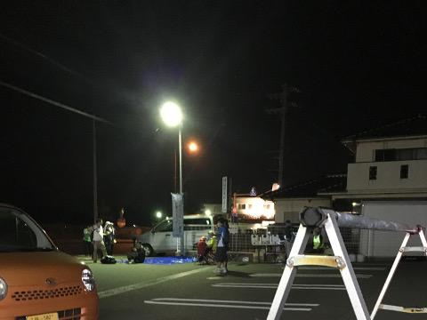 第2エイドポイント、サークルK因島重井店