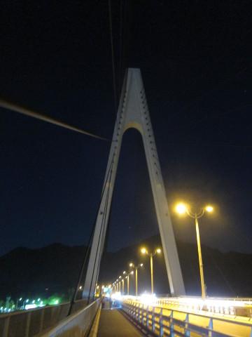 生口橋を歩く