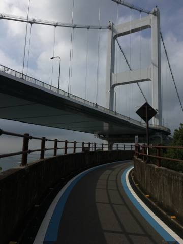 来島海峡大橋入り口
