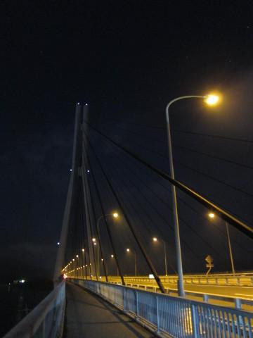 多々羅大橋を歩く