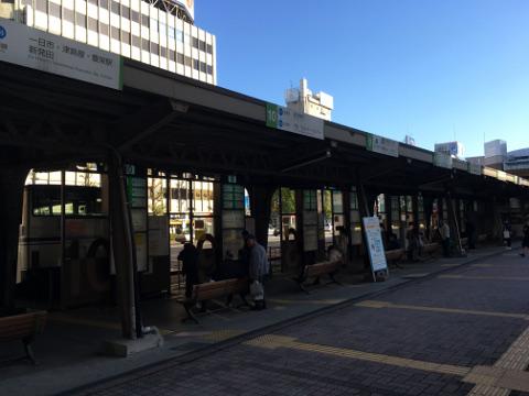 新潟駅前バスターミナル