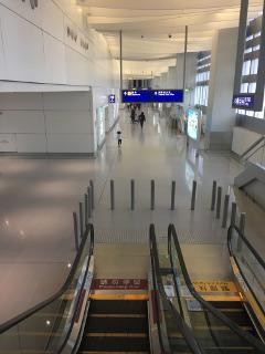 第2ターミナルの出国は空いてる