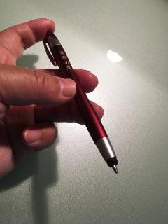 芯を出したらボールペン