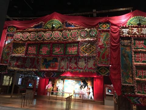 粤劇の小屋