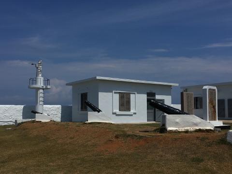 漁翁島燈塔の霧砲