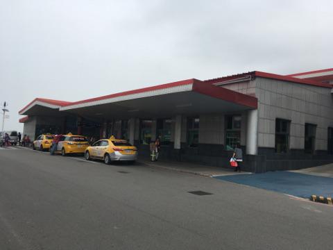 金門島フェリーターミナル到着ロビー