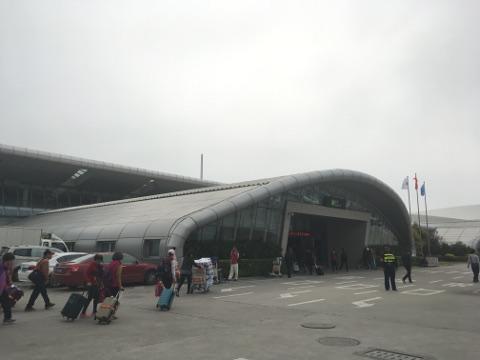 厦門のフェリーターミナル